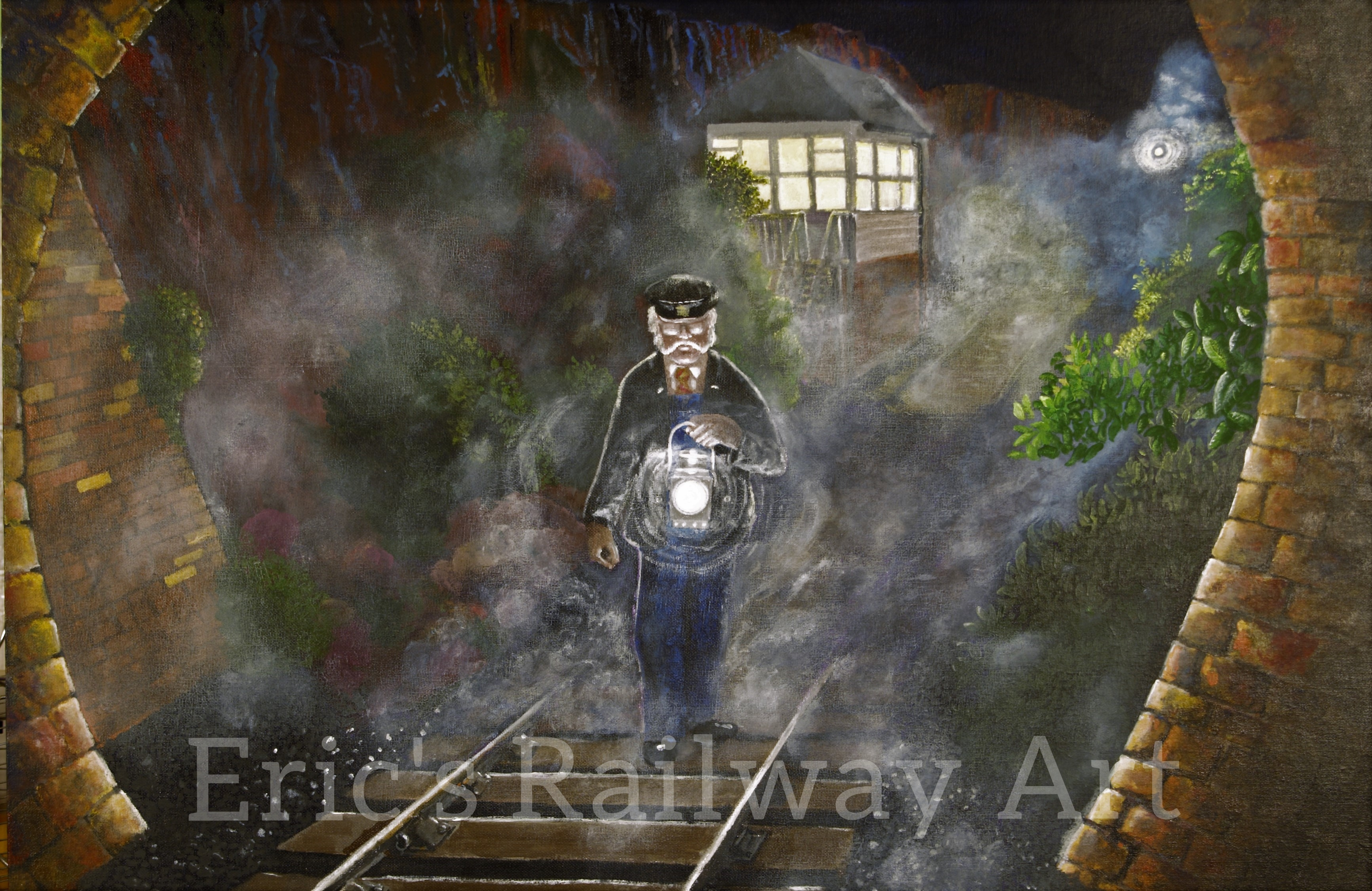 Eric's Railway Art - Ghostly