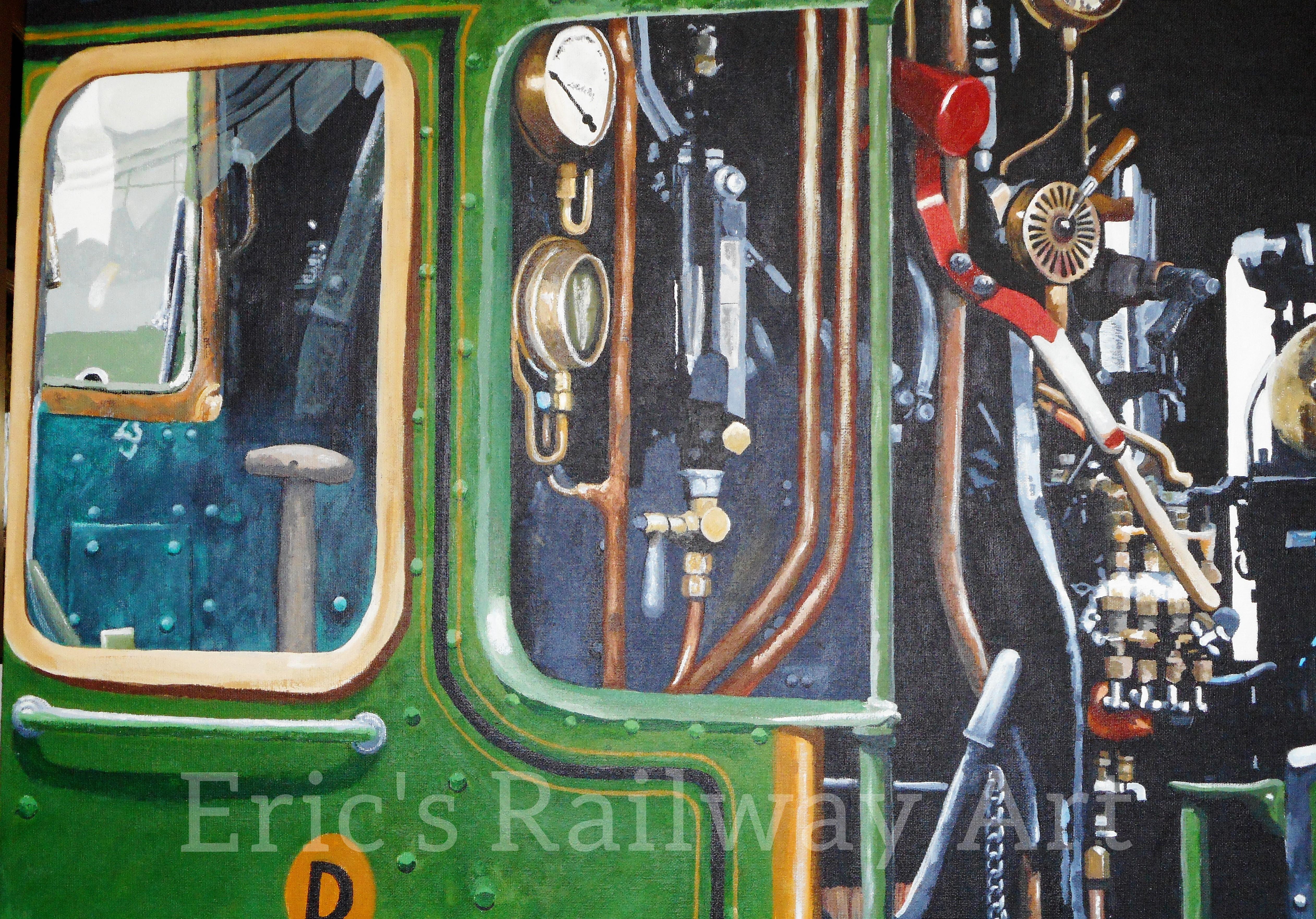Eric's Railway Art - Inside King Edward I