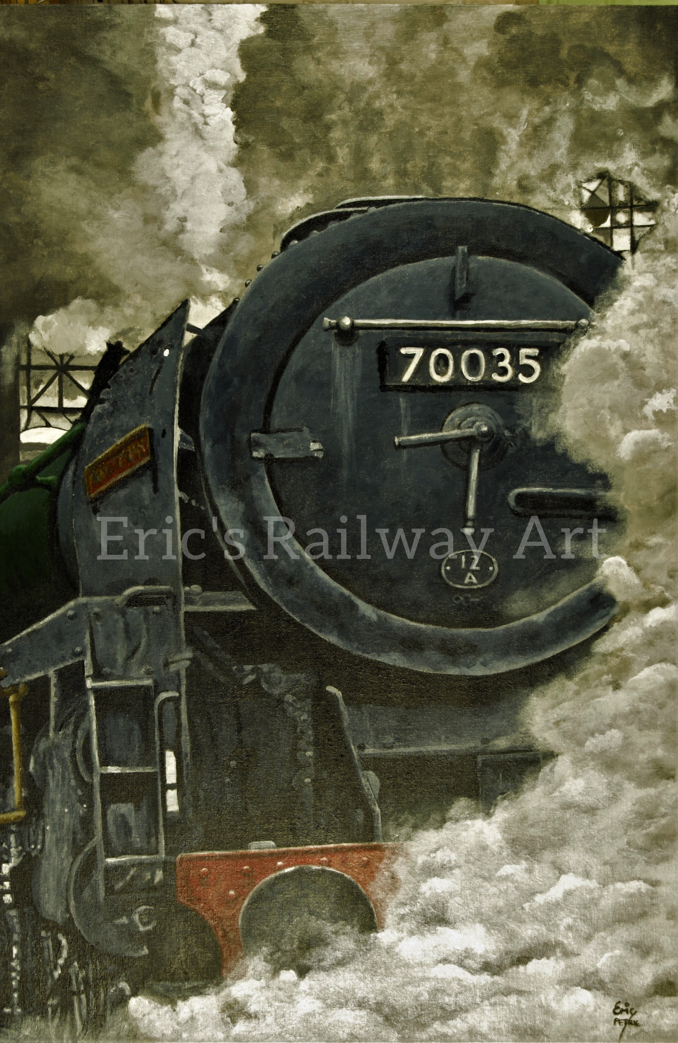 Eric's Railway Art - Rudyard Kipling