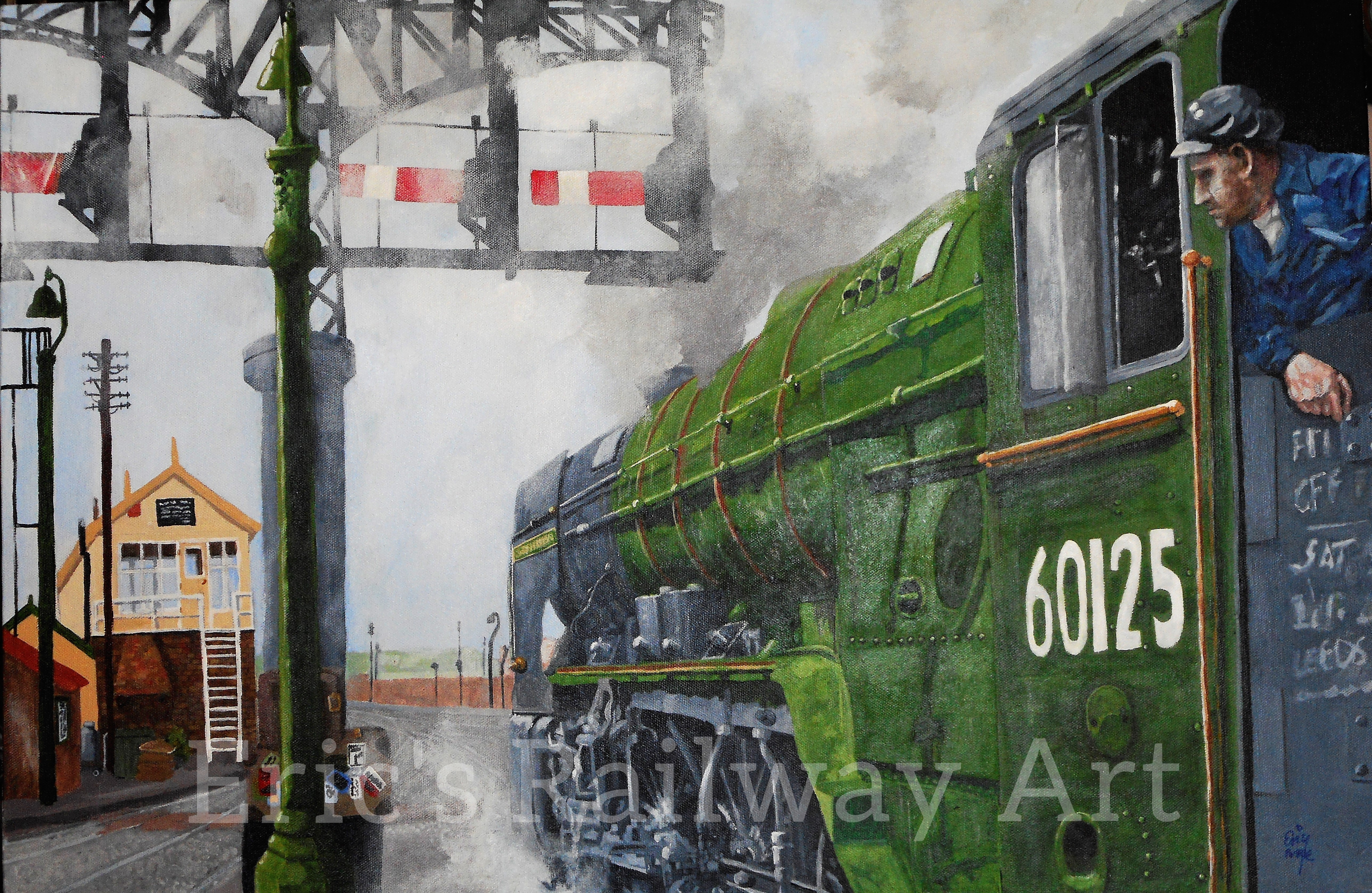 Eric's Railway Art - Scottish Union
