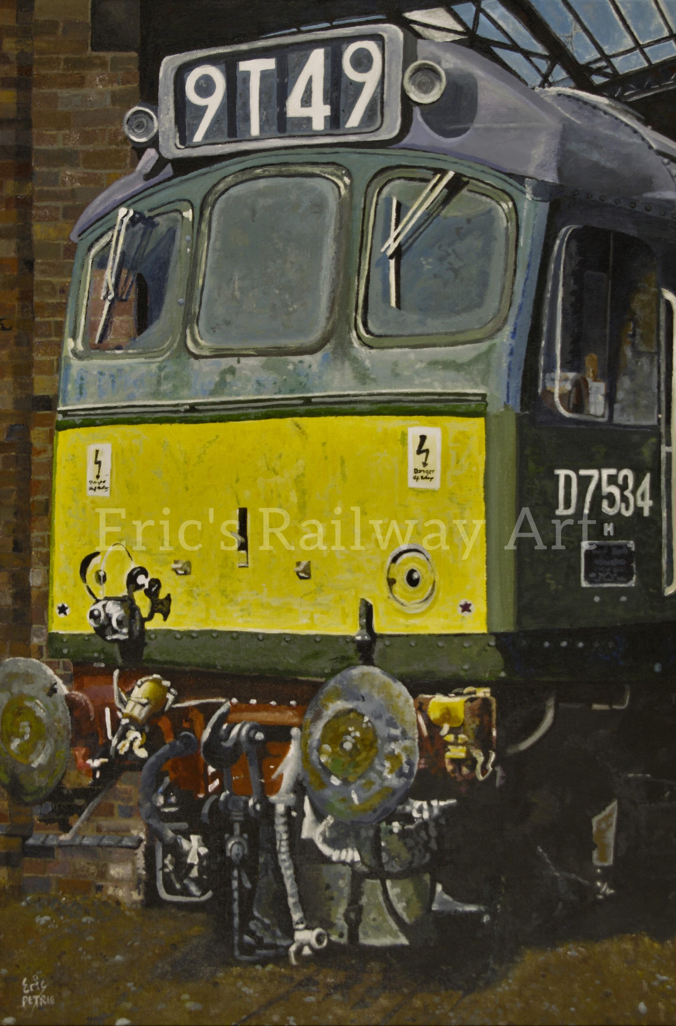 Eric's Railway Art - Sun Bathing